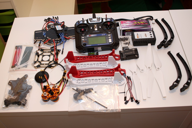 Quadcopter Build Kits F450 my first D...