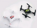 JJRC-H8C-white-and-black-side-by-side