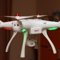 Syma-X8SW-quadcopter-maiden-flight