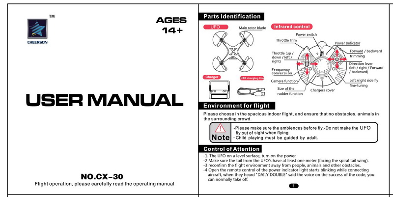 download cx 30 user manual here cheerson cx 30 user manual first quadcopter cx 33 wiring diagram at edmiracle.co