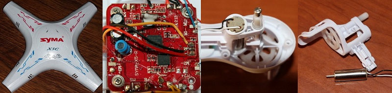 syma x5c repair first quadcopter syma x5c repair motor replace