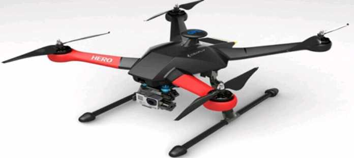 IdeaFly Hero 550 big sized quadcopter
