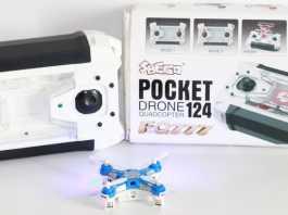 FQ777-124 Pocket quadcopter