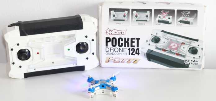 FQ777-124 Pocket quadcopter