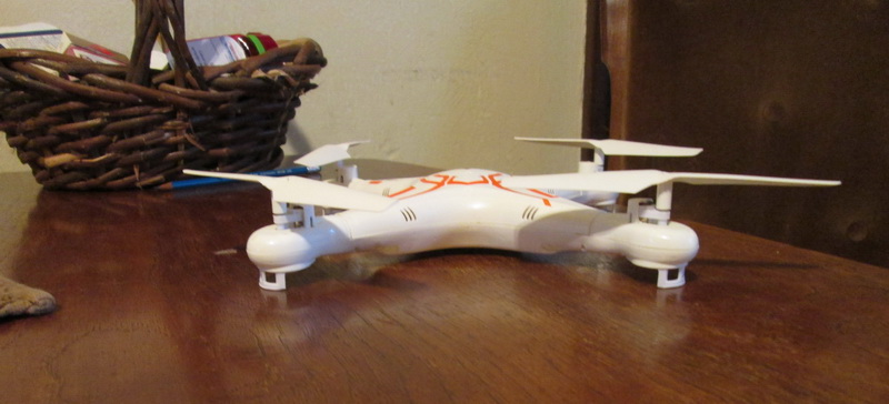 Mould King Quadcopter Hot Rod mod