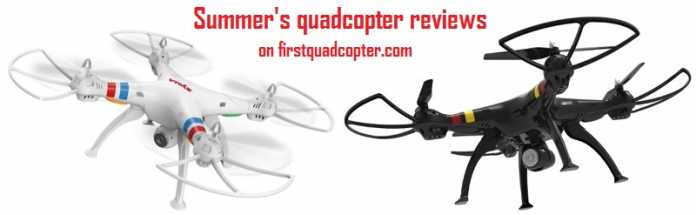 Summer's quadcopter reviews