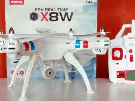 Syma X8W review