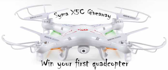 x5c quadcopter giveaway