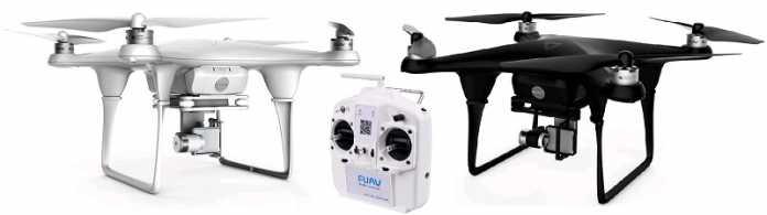 FUAV Seraphi qudacopter