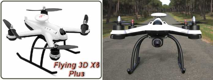Flying3D X6 Plus quadcopter