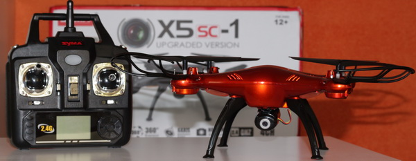 Syma X5sC-1 upgraded