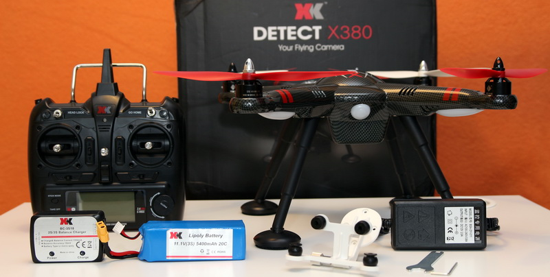XK X380 quadcopter review