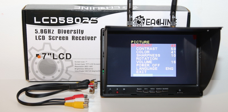 Eachine LCD5802S FPV review