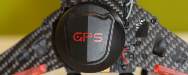 Runner 250(R) review - GPS antenna