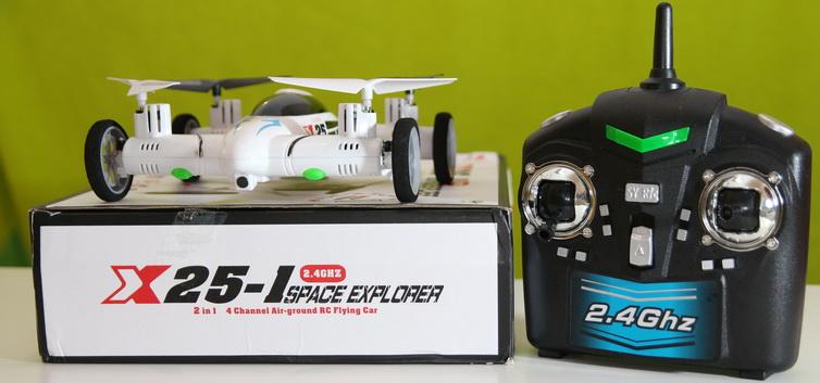 SY X25 car quadcopter review