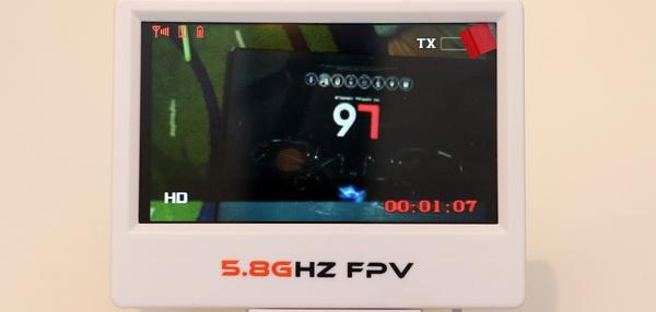 LiDi RC L6F review - FPV display