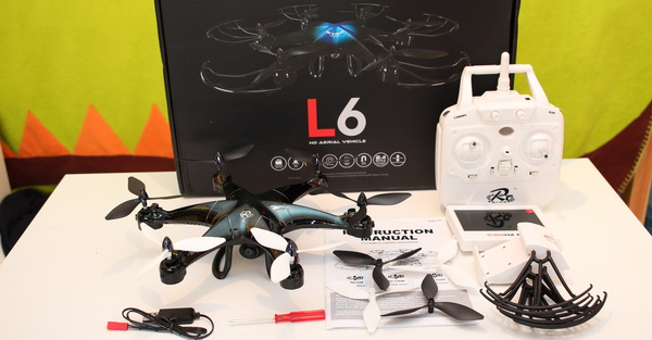 LiDi RC L6F review - Overview of the hexacopter