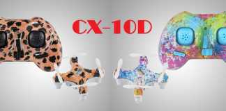 Cheerson CX-10D quadcopter