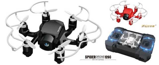 FQ777 126C Spider hexa-copter