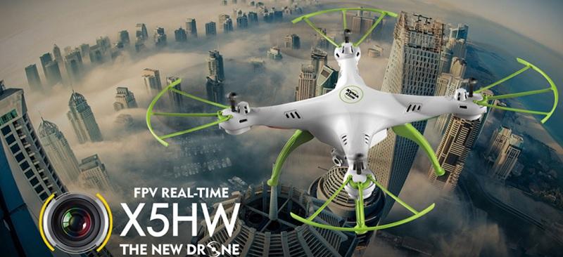 Syma X5HW quadcopter