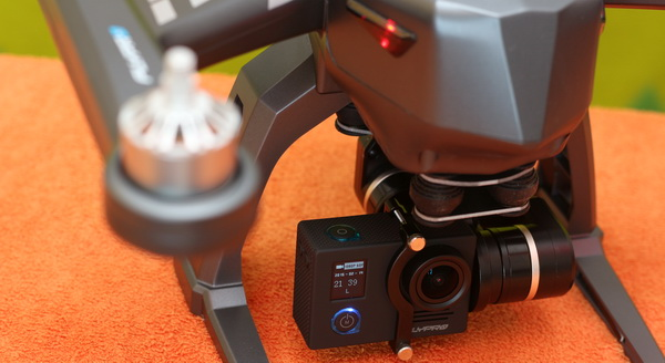 FlyPro XEagle review - Camera and gimbal