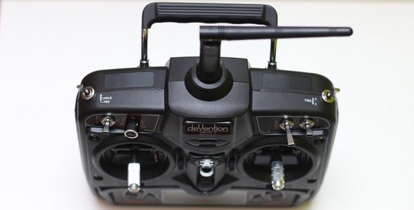 Walkera F210 review - Transmitter