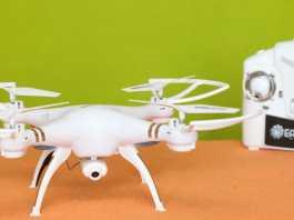 Eachine E30W quadcopter review