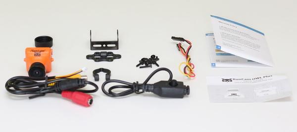 RunCam Owl Plus review - Accessories