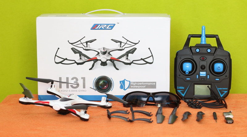 JJRC H31 quadcopter review