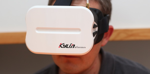 KDS Kylin Vision FPV googles review - Usage and test