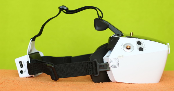 Walkera Goggle 4 review - Comfortable design