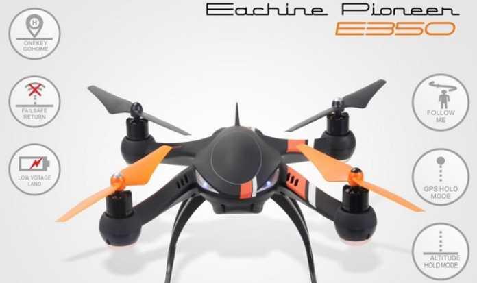 Eachine Pioneer E350 drone