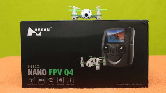 Hubsan H111D quadcopter review