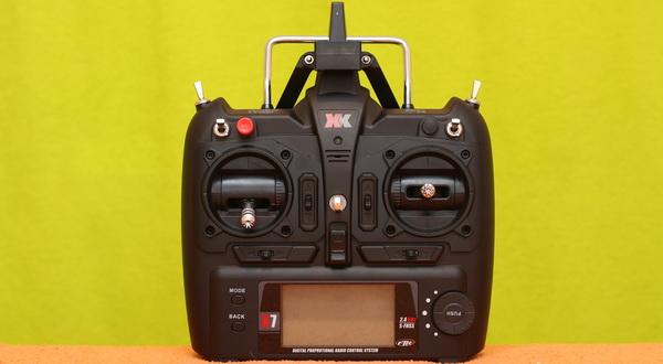 XK X252 Shuttle review - Transmitter