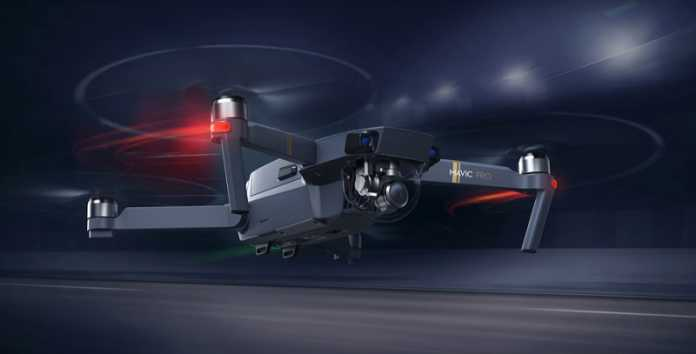 DJI Mavic Pro drone quadcopter