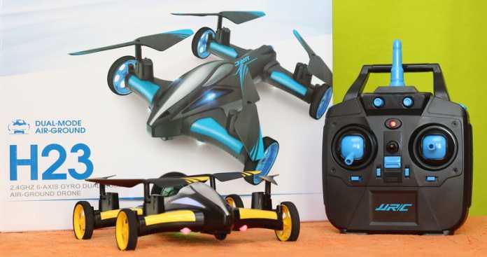 JJRC H23 quadcopter car review