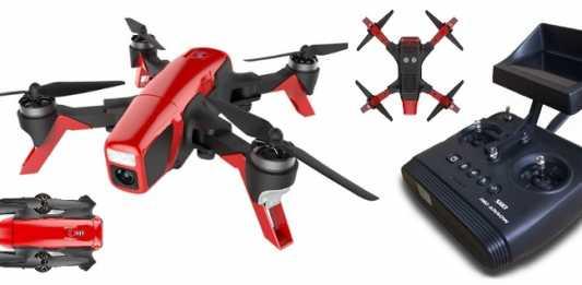 SMD Red Arrow FPV quadcopter