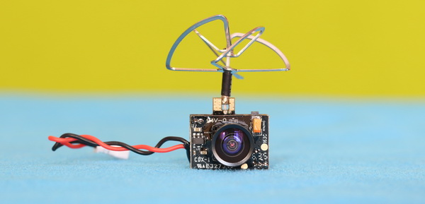 Eachine TX01 and TX02 revoew - Closer look on the cameras