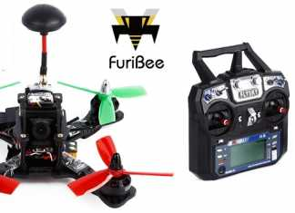 FuriBee F180 FPV quadcopter