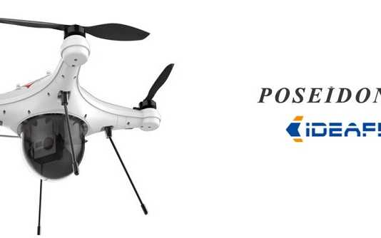 IDEAFLY Poseidon 480 waterproof quadcotper