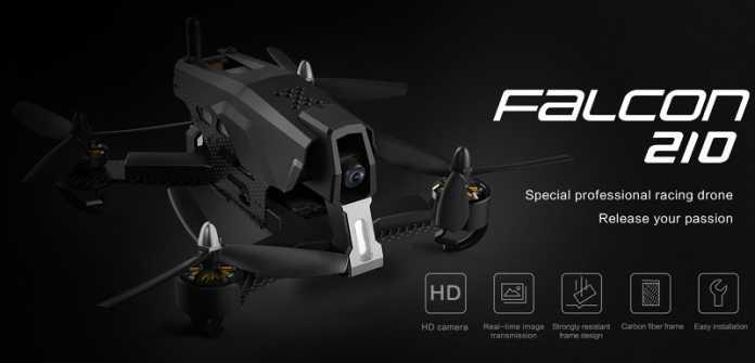 Tovsto Falcon 210 racing FPV quadcopter