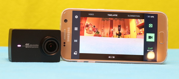 Xiaomi Yi 4K review - Remote APP