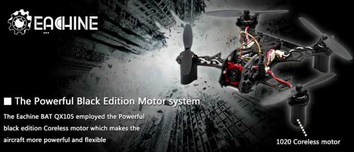 Eachine QX105 FPV racing quad