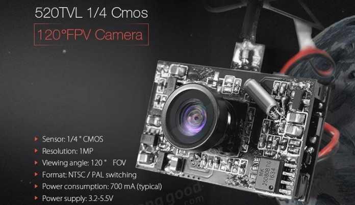 Eachine DVR03 camera with DVR