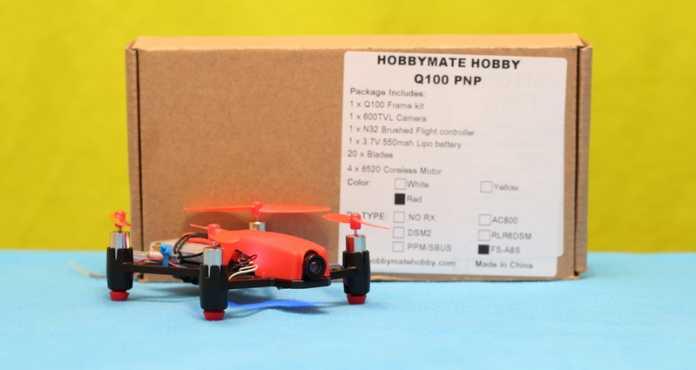 HobbyMate Q100 Quadcopter drone review