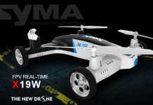 Syma X19W car quadcopter