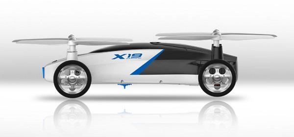 Syma X19W drone design