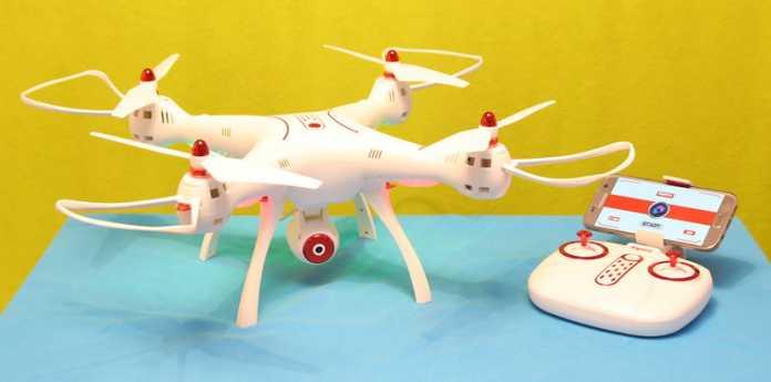 Syma X8SW drone review