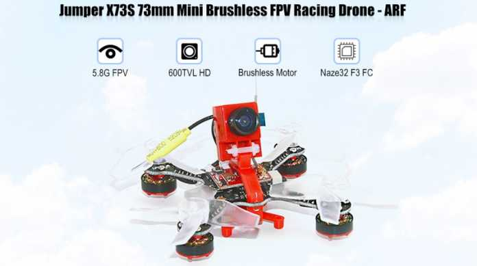 X37S ultra compact FPV quadcopter
