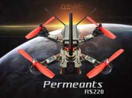 ASUAV RS220 FPV racing drone